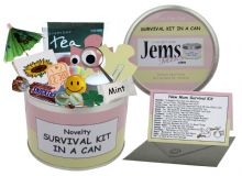 New Mum/Mum To Be Survival Kit In A Can